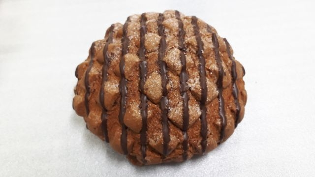 セブンイレブン香るカカオのチョコメロンパン