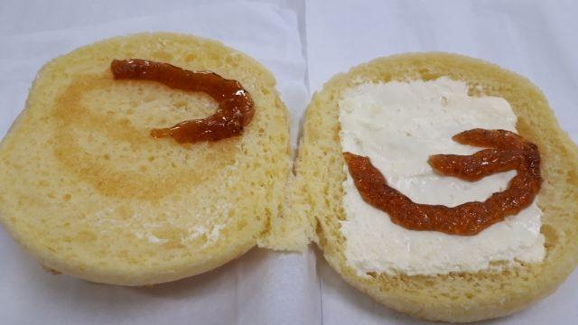 セブンイレブンふんわりメープルのパン