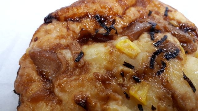 セブンイレブン照り焼きチキンのもっちりピザパン
