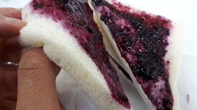 味わい濃厚ブルーベリー&クリームチーズ