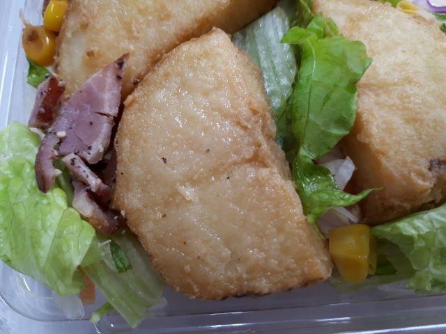 道産じゃがいもとベーコン&コーンのサラダ